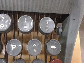 teclat Olivetti Studio 44