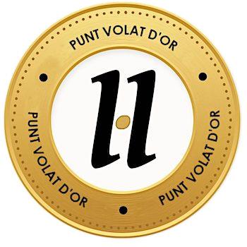 medalló pels mecenes que van aportar 100€ a la campanya #VerkamiPuntVolat