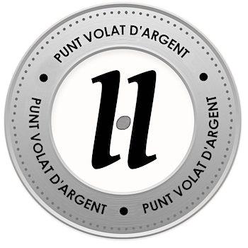 medalló pels mecenes que van aportar 10€ a la campanya #VerkamiPuntVolat