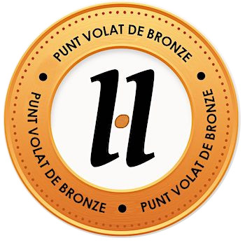 medalló pels mecenes que van aportar 3€ a la campanya #VerkamiPuntVolat