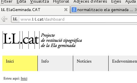 El projecte ElaGeminada.CAT treballa en un nou portal